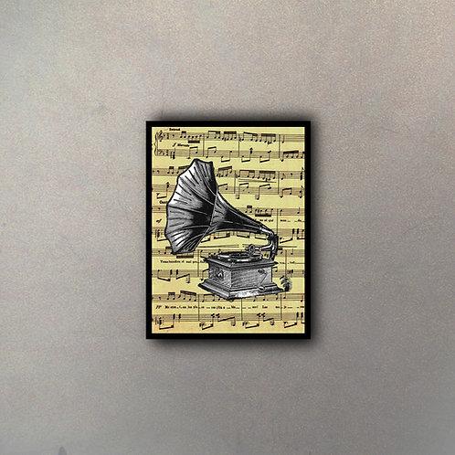 Partitura Gramófono