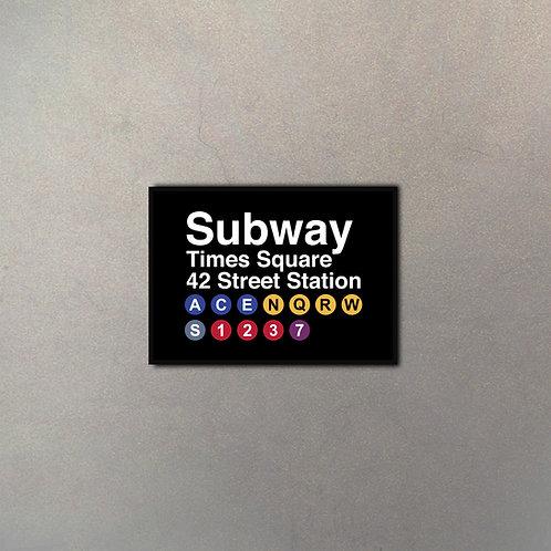 NYC Subway Gigante