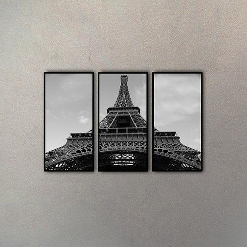 Set Torre Eiffel II (3 Cuadros)