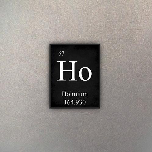 Elemento Holmio