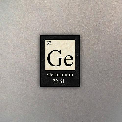 Elemento Germanio I