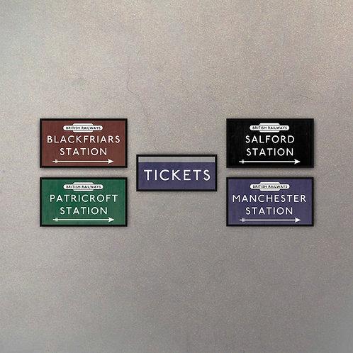 Combo Carteles British Railways