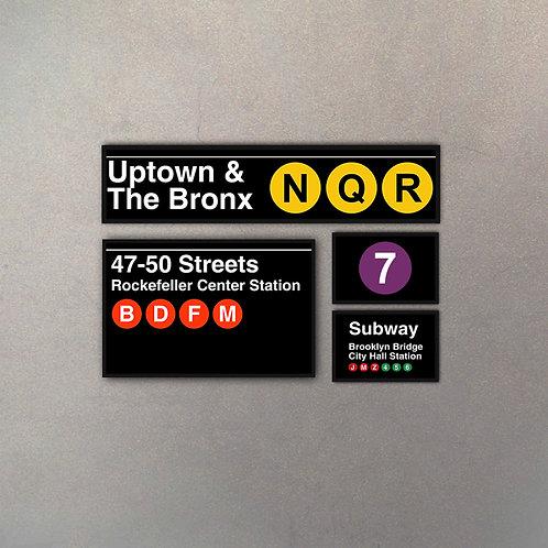 Combo NYC Subway III