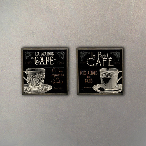 Set Café I (2 Cuadros)