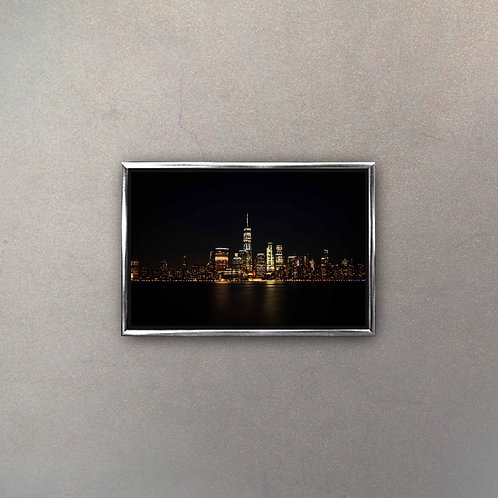 Vista Nocturna New York II (Canvas)
