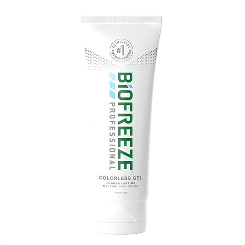 Biofreeze Colorless 4oz Gel