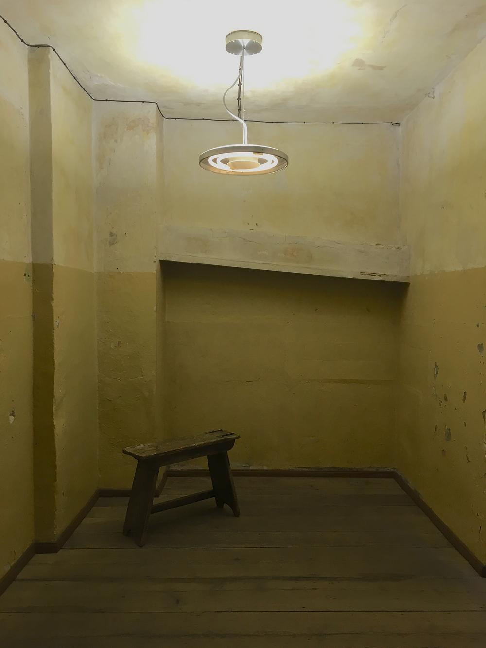 ヴァイト氏が一部の従業員を匿っていた部屋