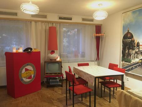 旧東ドイツ時代の味を堪能できるレストラン「Volkskammer」