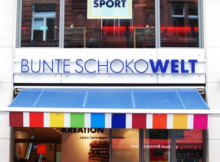 リッタースポーツ・チョコレートの専門店、カラフルチョコワールド・ベルリン