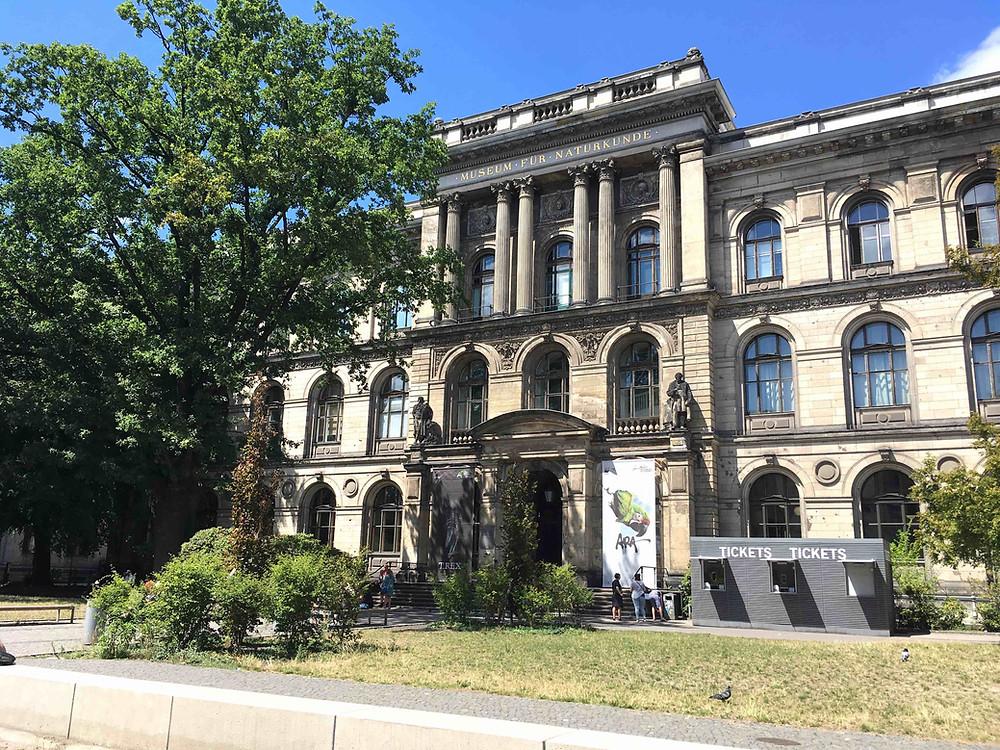 自然史博物館の外観