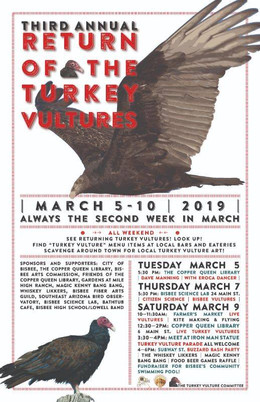 Return of the Turkey Vultures - second weekend of March