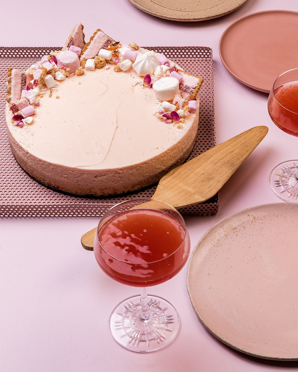 Iced VoVo Cheesecake