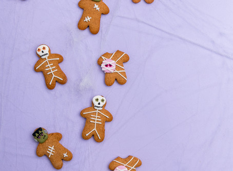 Spooky Gingerbread Men