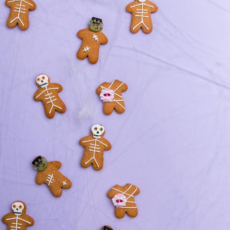 Spooky Gingerbread Men