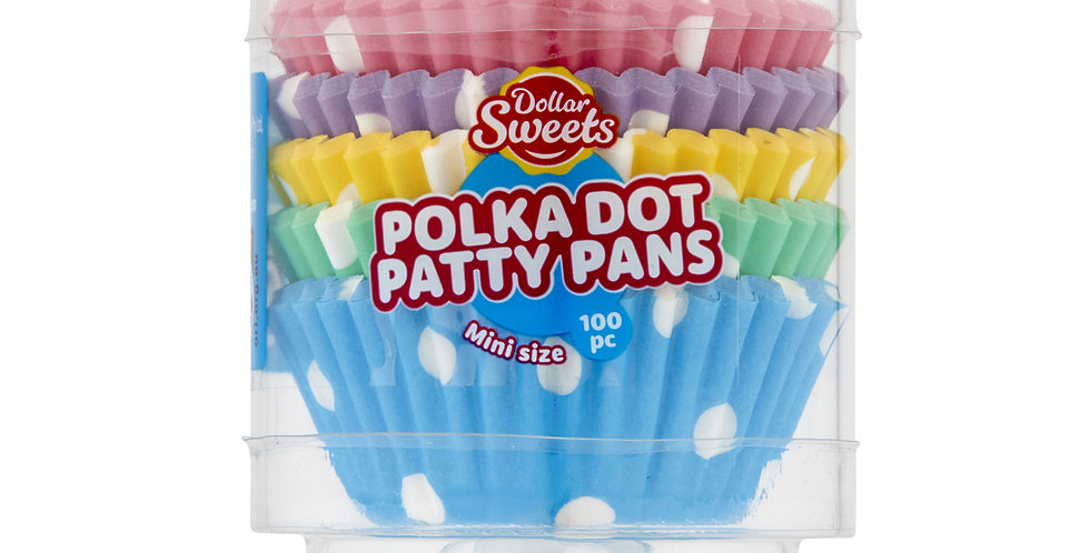 Mini Polka Dot Patty Pans