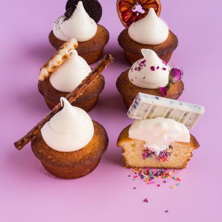 Secret Confetti Cupcakes