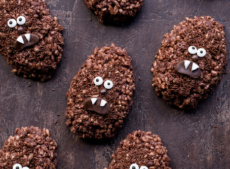 Chewbacca Chocolate Crackles