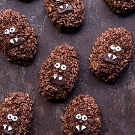 Chewbacca Chocolate Crackles