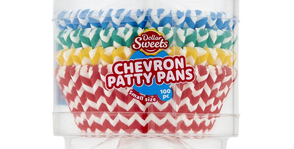 Small Chevron Patty Pans