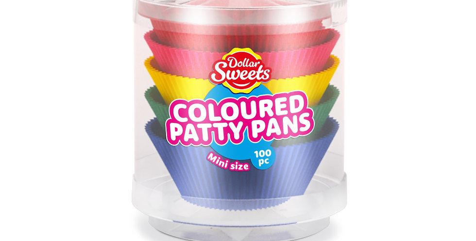 Mini Coloured Patty Pans