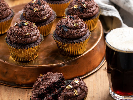 Stout Chocolate Cupcakes