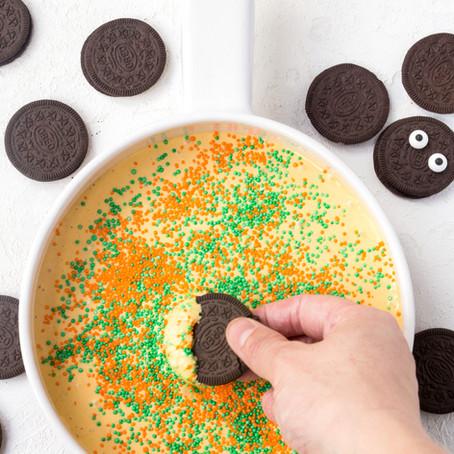 Pumpkin Spice Cake Batter Cookie Dip