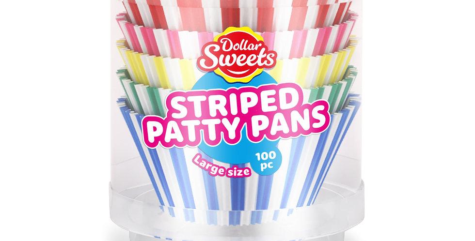 Large Striped Patty Pans