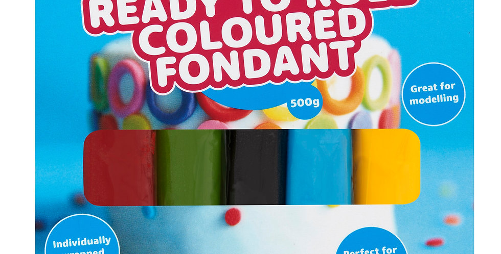 Coloured Fondant Multipack