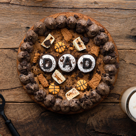 Dad Cookie Cake