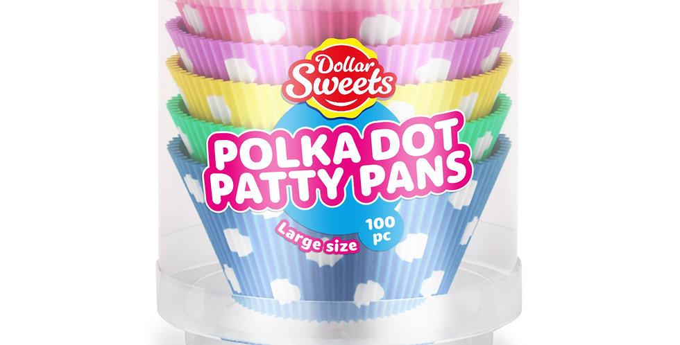 Large Polka Dot Patty Pans