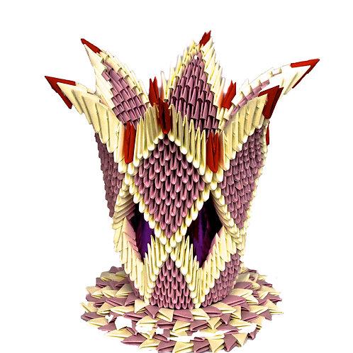 Pink Purple Vase