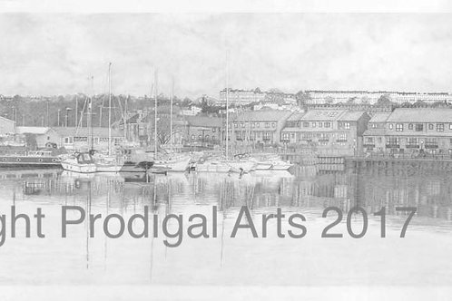 Bristol Harbourside Panorama, Original