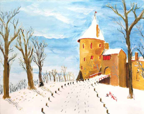 VERY LOW STOCK 4) After Castle Coch by Colin - A6