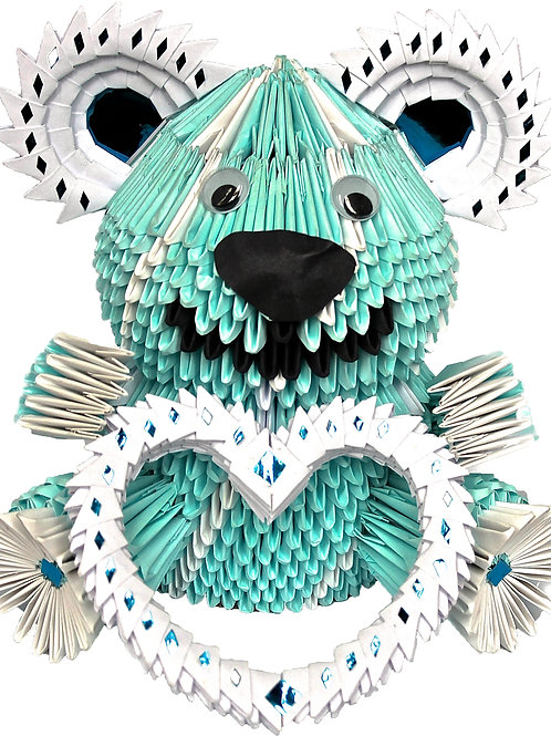 Small Blue Bear