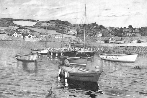 Cornish Harbour, Print