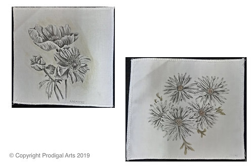 Flowers on Fabric