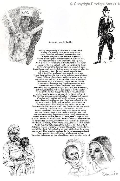 Restoring Hope an illustrated poem