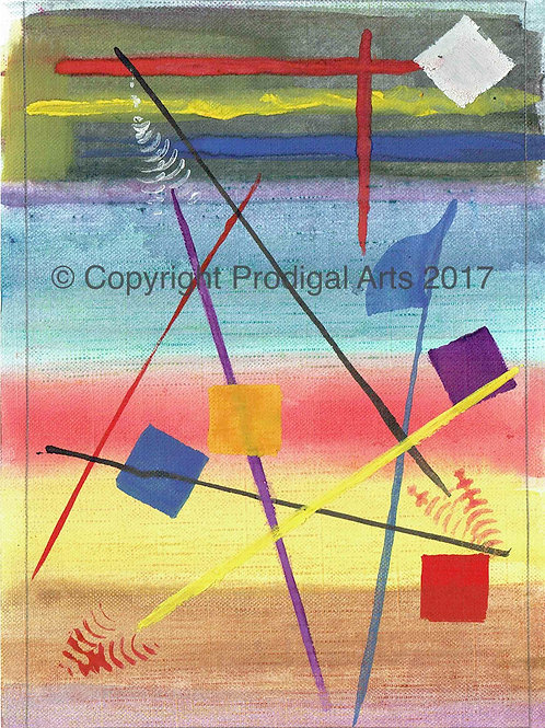 Flag Abstract