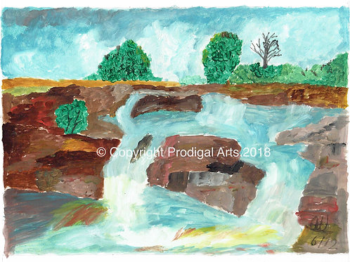 Lowerfalls, Teesdale