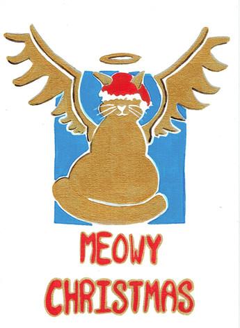 VERY LOW STOCK 11) Meowy Christmas by Nicholas