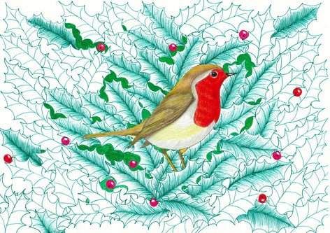 10) Robin and Holly by Davey