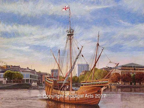 The Matthew in the Harbourside