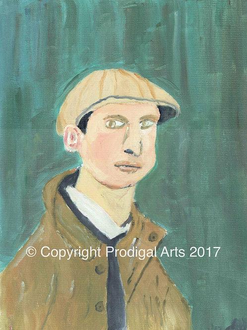 Portrait after Lowry