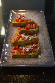 Avocado Hummus Toast