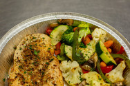 Rosemary Roasted Chicken and Sautéed Vegetables - To Go