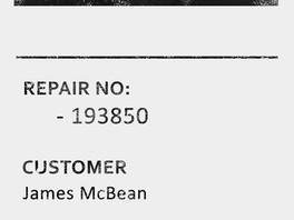 Repair ID - 193850