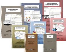 Organiseurs Agendas Métiers Production et Maintenance 2021