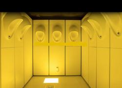 Congregating Urinal-Monks