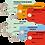 Thumbnail: Echantillon ATELIER 30 Etiquettes américaines -cartonnées-100x55m-attache metal