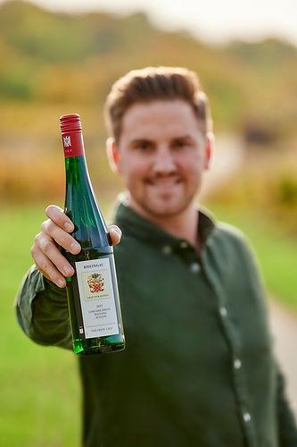 Marc Leitis, Graf von Kanitz, Weingut Kanitz, Wein, Flasche, Rheingau